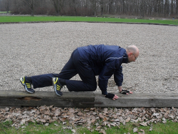 Personal Training in Bonn. Krabbeln / Crawling
