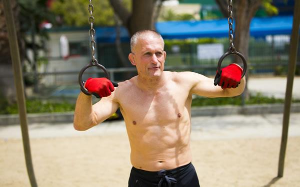 Fitnesscoach Steve Maxwell